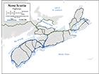 B&W Highways Map (CMC539-02)