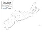 B&W County Boundaries/No Shading (CMC-667)