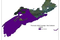 Central, Western and South West Nova Scotia including the Minas Basin and Sable Island LiDAR data