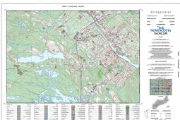 GIS Specialist, John MacKinnon's winning submission to ESRI Canada's 2015 Maps and Apps Calendar Contestt