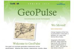 GeoPulse Newsletter Spring 2015