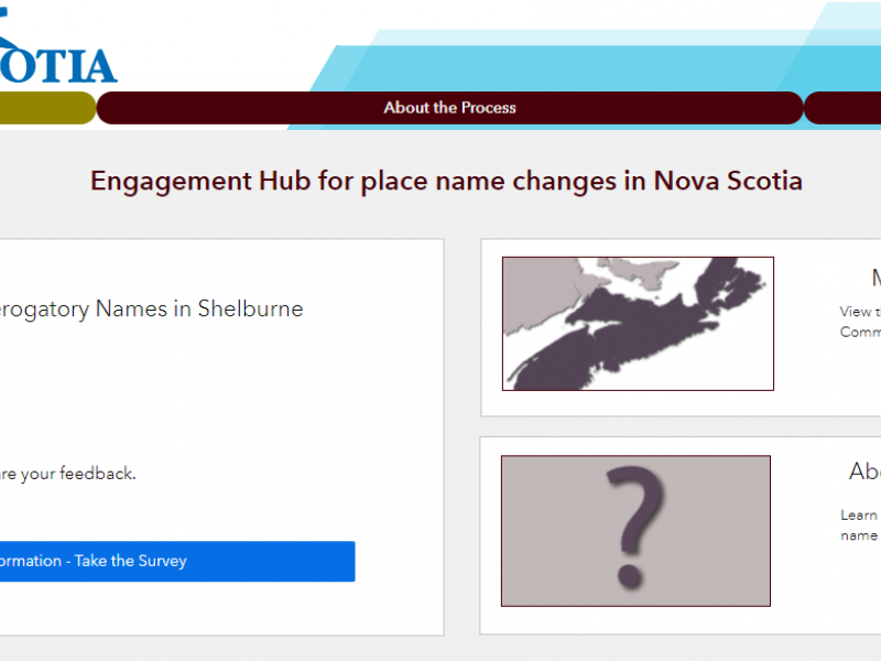 Engagement Hub for Place Name Changes Released
